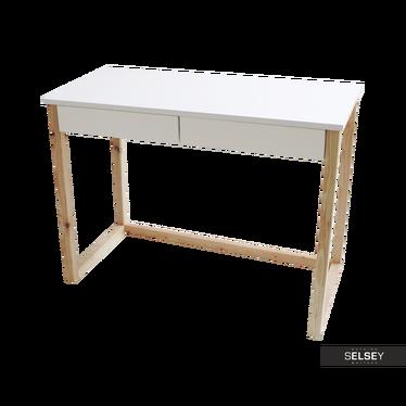 Schreibtisch SKANDINAVIEN mit 2 Schubladen