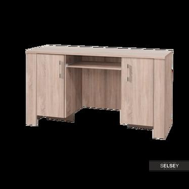 Schreibtisch THEON mit Tastaturablage oder Schublade