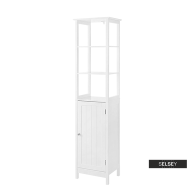Badregal WLENS mit Tür