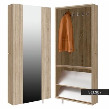 Drehschrank STRIP (Garderobe, mit Spiegel, breit)