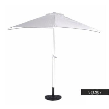 Sonnenschirm WHITE mit Schirmständer und Hülle
