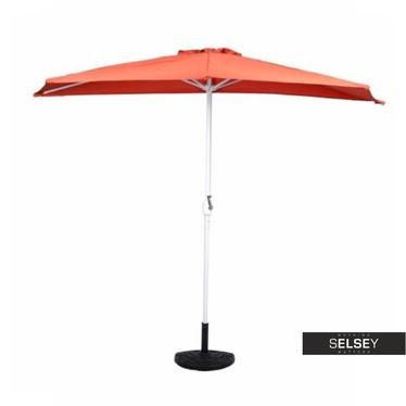 Sonnenschirm ORANGE mit Schirmständer und Hülle