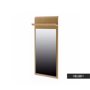 Wandpaneel mit Spiegel und Ablage