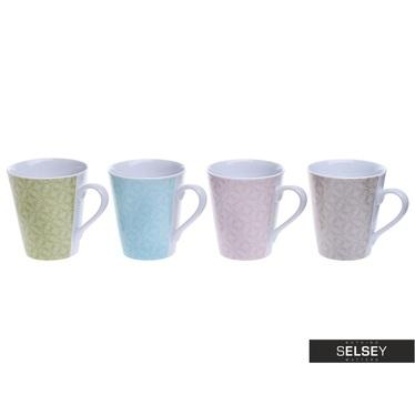 Tassen-Set BUNT 4 Stück (klein)