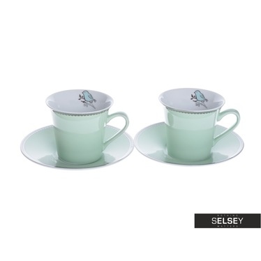 Tassen-Set NIGHTINGALE grün 2 Stück
