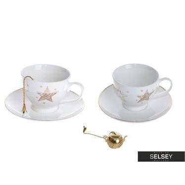 Tassen-Set STAR (2 Stk.) mit Teeei