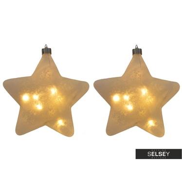 Weihnachtskugeln TWINKLE LED (2 Stk.) 15 cm