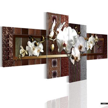 Wandbild ELEGANTE ORCHIDEE 100x45 cm