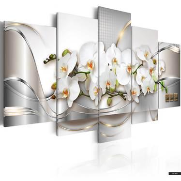 Wandbild BOUQUET DER UNSCHULD 100x50 cm
