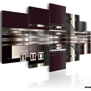 Wandbild ABSTRAKTER MOMENT 100x50 cm