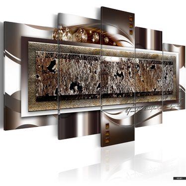 Wandbild BRONZE FUSION 200x100 cm