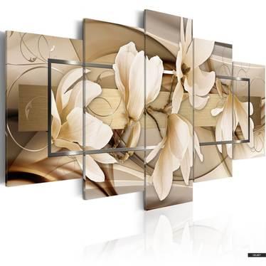 Wandbild MAGNOLIENTANZ 100x50 cm