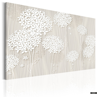 Wandbild BLUMEN IM WIND 60x40 cm