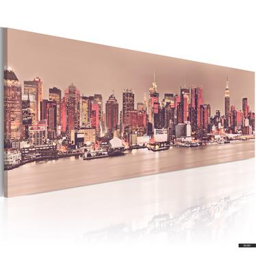 Wandbild NEW YORK 120x40 cm