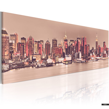 Wandbild NEW YORK 135x45 cm