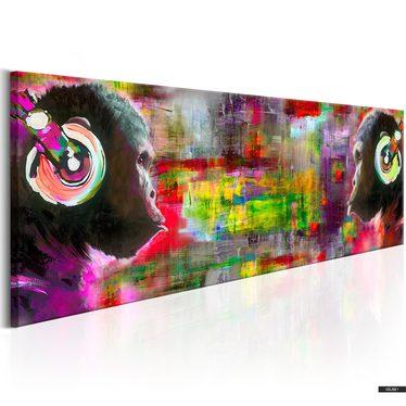 Wandbild MUSICAL DUET 135x45 cm