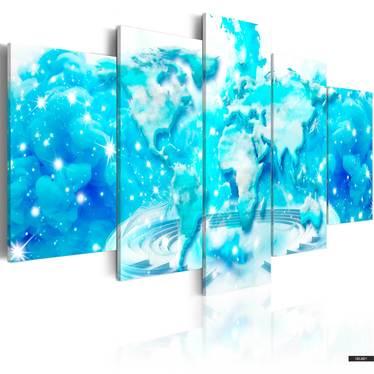 Wandbild CLOUDS ATLAS 100x50 cm