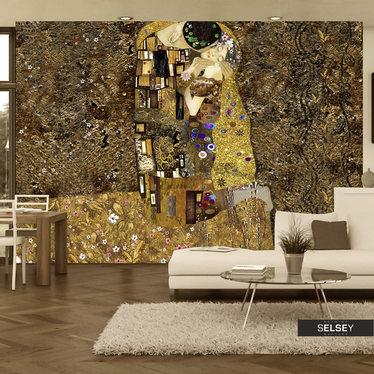 Fototapete DER KUSS inspiriert von Klimt