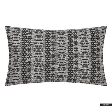 Dekokissen NEW NORDIC 30 x 50 cm schwarz/weiß