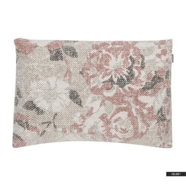 Dekokissen VINTAGE FLOWER rosa 35x50 cm