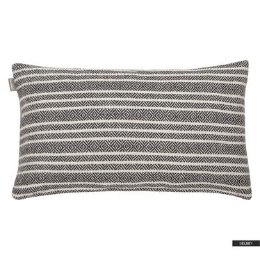 Dekokissen WINFORD schwarz/weiß 30x50 cm