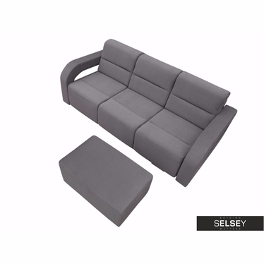 Schlafsofa CHILI ASTOR mit Hocker