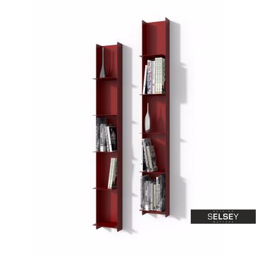 Bücherregal LIBRA I rot