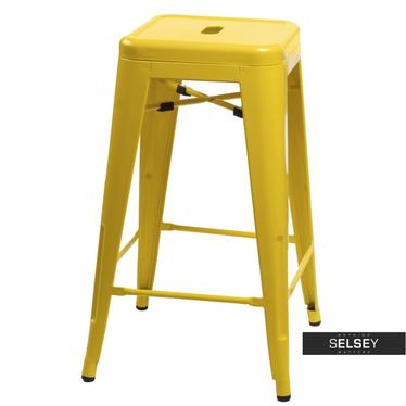 Barhocker PARIS gelb 75 cm