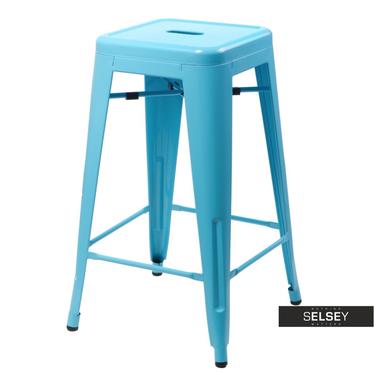 Barhocker TOLADER blau 75 cm