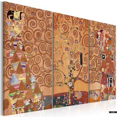 Wandbild BAUM DES LEBENS 120x80 cm