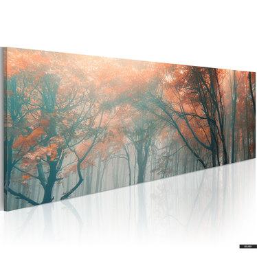 Obraz - Jesienna mgła 120x40 cm