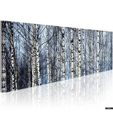 Wandbild BIRKEN120x40 cm