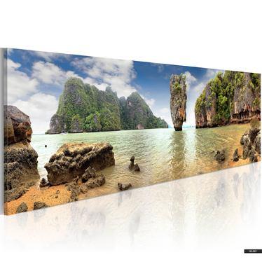Wandbild DESERT ISLAND 120x40 cm