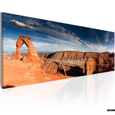 Wandbild GRAND CANYON PANORAMA 120x40 cm