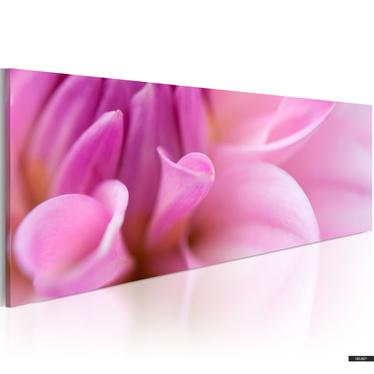 Wandbild CHARMANTE DAHLIE 120x40 cm
