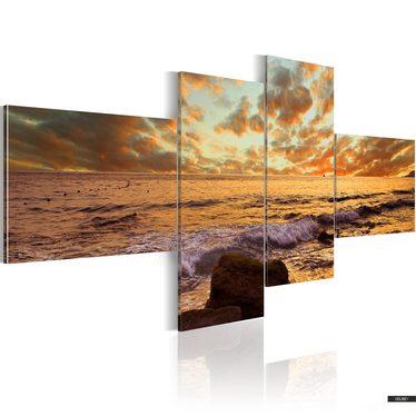 Wandbild BEATIFUL SUNSET 200x90 cm