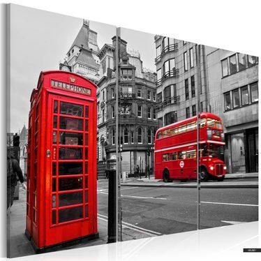 Wandbild LEBEN IN LONDON 120x80 cm