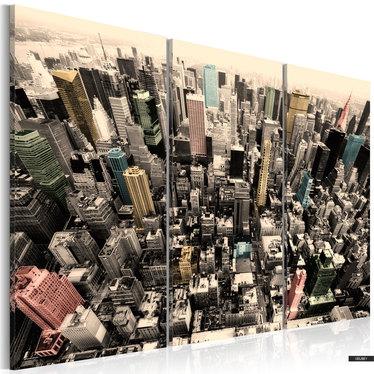 Wandbild HOCHHÄUSER VON NEW YORK 120x80 cm