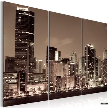 Wandbild ABEND IN MIAMI 120x80 cm