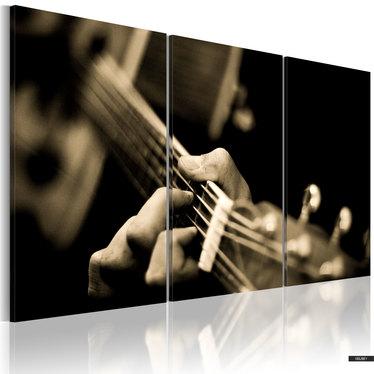 Wandbild MAGISCHER GITARRENSOUND 120x80 cm