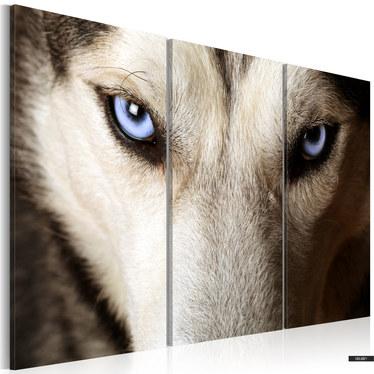 Wandbild FACE TO FACE WITH FEAR 120x80 cm