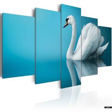Wandbild SCHWAN 100x50 cm
