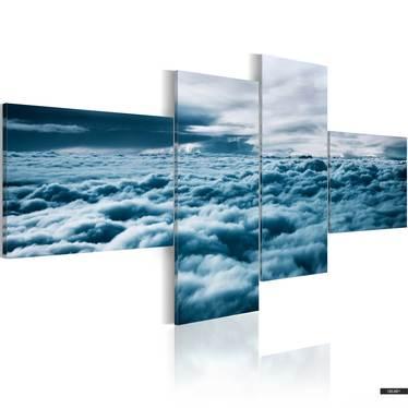 Wandbild DICHTE WOLKEN 100x45 cm