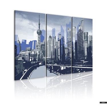 Wandbild SHANGHAI 120x80 cm