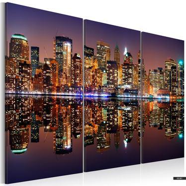 Wandbild NEW YORK IM LICHT 120x80 cm