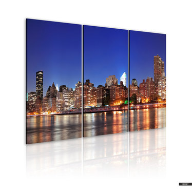 Wandbild NEW YORK AT NIGHT 60x40 cm