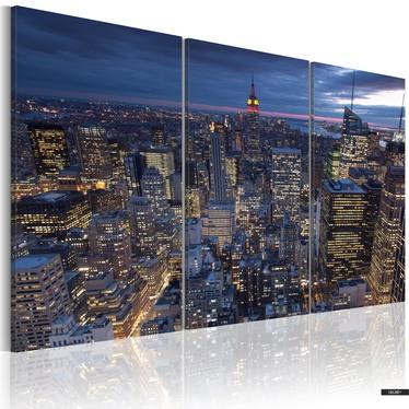 Wandbild BLICK VON OBEN - NYC 120x80 cm
