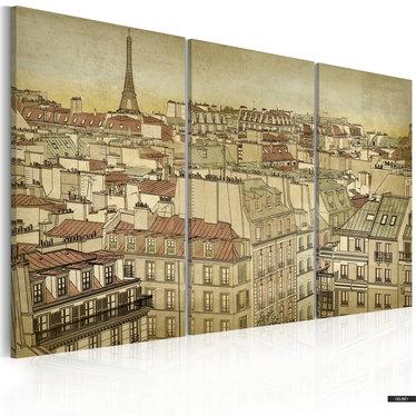 Wandbild PARIS - STADT DER HARMONIE 60x40 cm