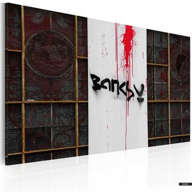 Wandbild BLUT by Banksy 60x40 cm