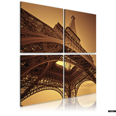 Wandbild EIFFELTURM - PARIS 40x40 cm